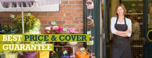 florist who just got best price and cover guarantee retail insurance from insure my shop